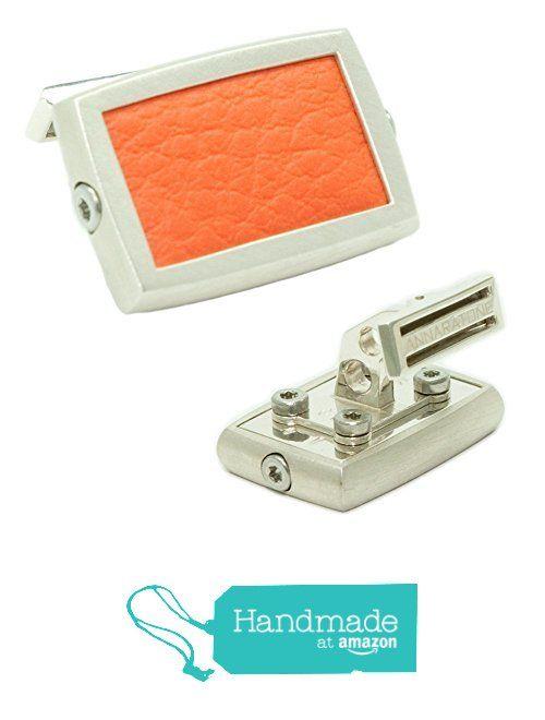 Annaratone Jewelry , Gemelli in Argento 925 , Historic Racing Arancione RSR , finitura satinata da Annaratone Jewelry https://www.amazon.it/dp/B01LWUCPIV/ref=hnd_sw_r_pi_dp_Ber6xb4RV6MCQ #handmadeatamazon