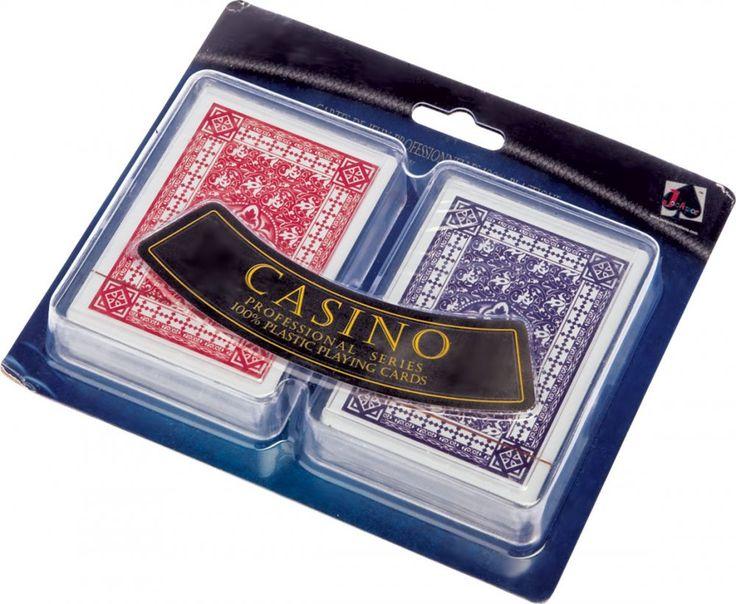 Набор игральных карт «Казино» 1230 руб.  2 колоды по 36 карт, пластик