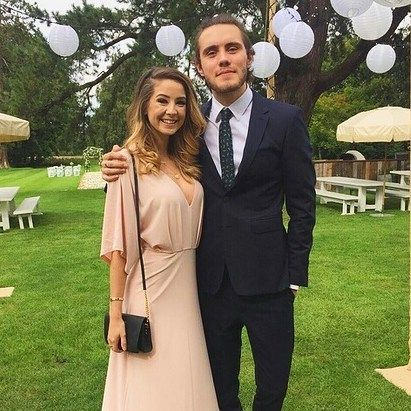This photo is from Tanya and Jim's wedding  Hope they'll be next to get married  hahaha  #zalfie #pointlessblog #zoella #zoe #zoesugg #alfie #alfiedeyes #love #relationshipgoals #cuddle #boyfriend #girlfriend #uk #brighton #youtube #forever #vsco #vscocam #youtuber #youtube #wedding #dress #suit #fashion by zalfieloveisforever
