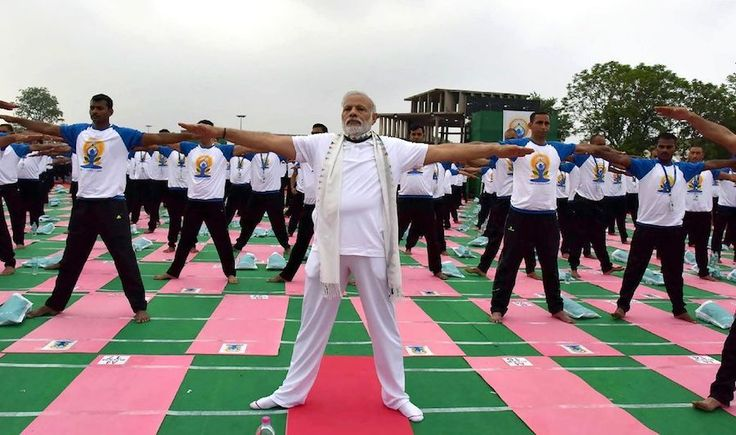 Prime Minister Narendra Modi on Wednesday night expressed gratitude to the people across the world who participated in the International Day of Yoga.  The third International Yoga Day was celebrated across the world, with lakhs of people bending,