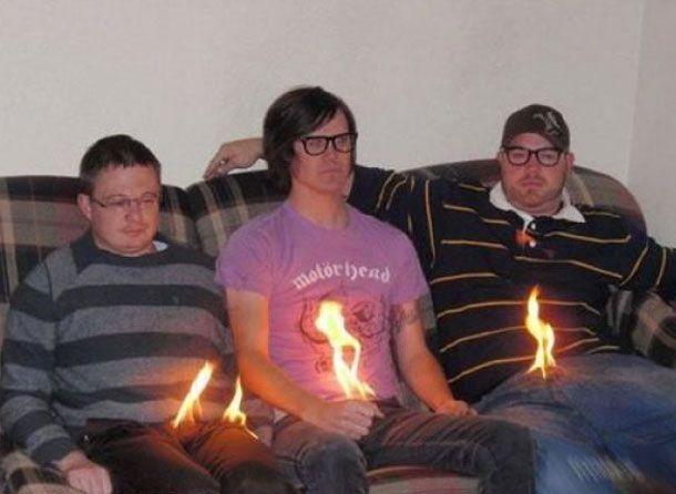 fire crotch.