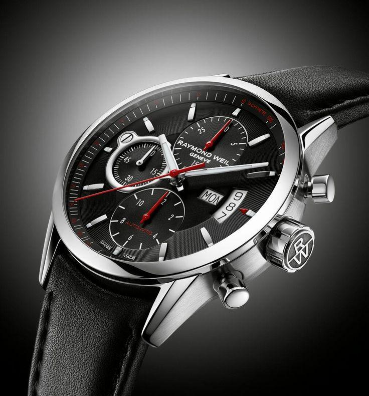 Basel 2013 - Raymond Weil - Freelancer Simply Class Chronograph