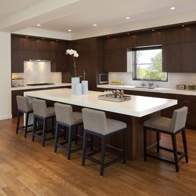 island table combo kitchen pinterest