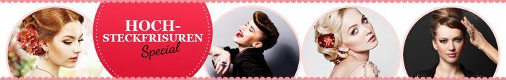 Anleitung: Hochsteckfrisuren für mittellanges Haar | Für Sie