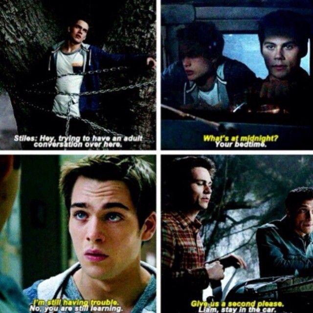 Teen Wolf S5Ep01 - Liam, Stiles & Scott