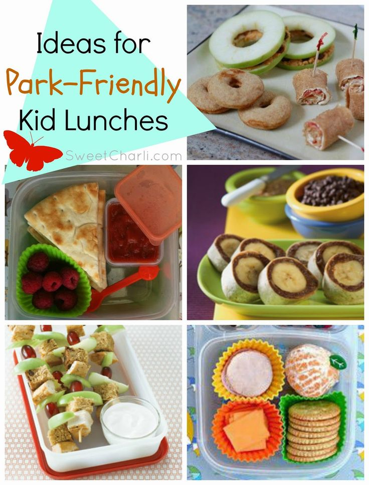 5 Park-Friendly Kid Lunches