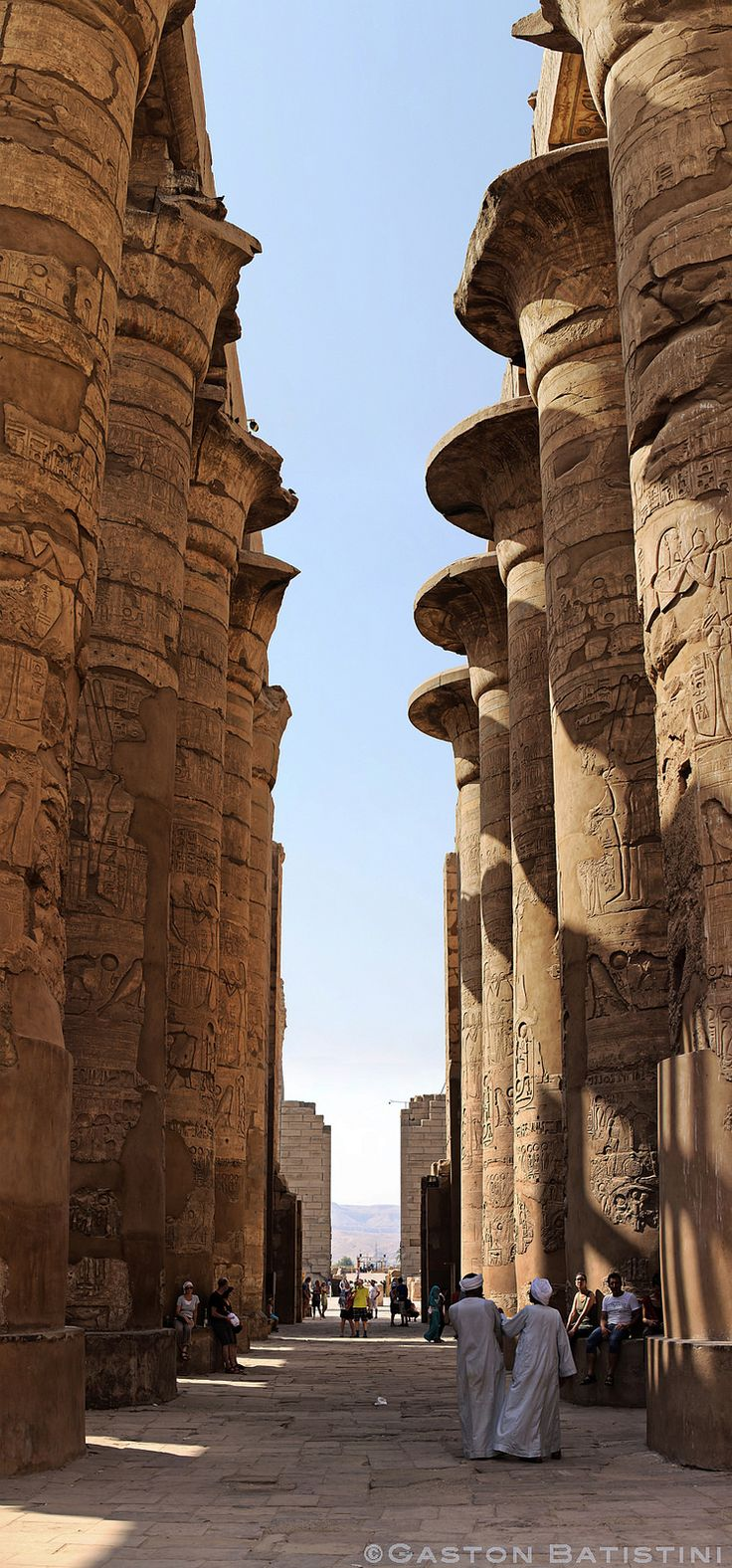 Temple of Karnak, Louxor , Egypt
