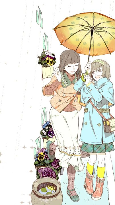Tokyo Ghoul | Toukyou Kushu - Ryouko and Hinami Fueguchi