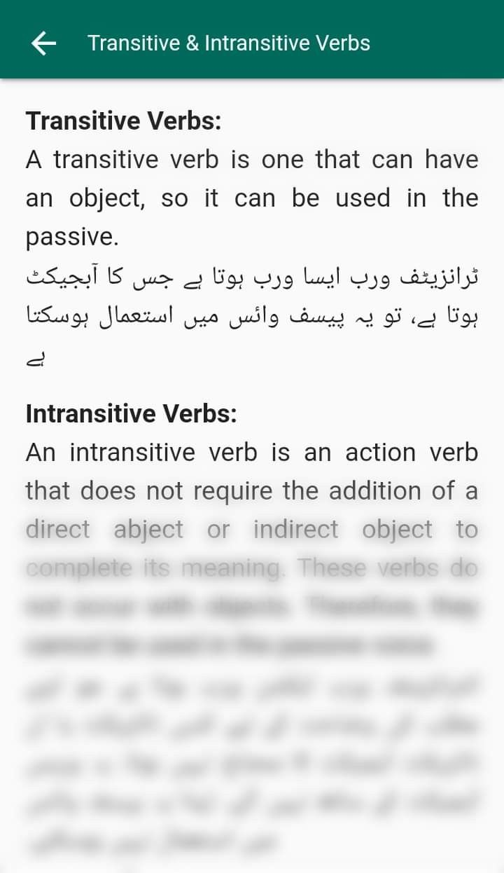 Transitive And Intransitive Verb List Learn English Intransitive Verb Verb
