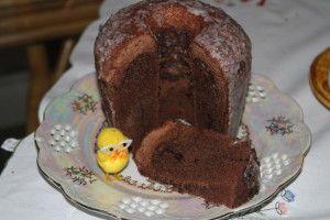 babka czekoladowa gotowana