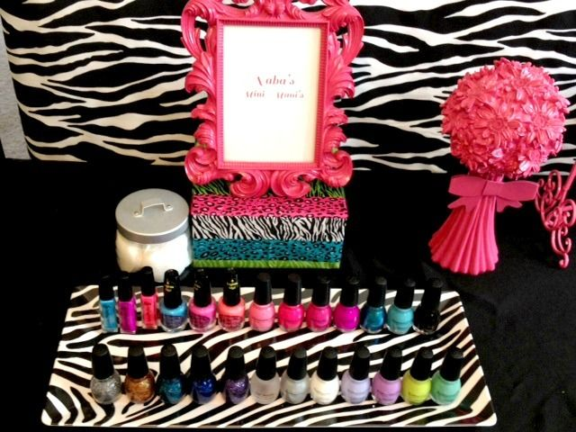 """Photo 3 of 14: Birthday """"Mini POP Makeover Party""""   Catch My Party"""
