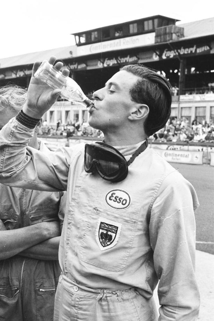 Jim Clark at the German Grand Prix 1963 – photo by Erwin Jelinek / Technisches Museum Wien