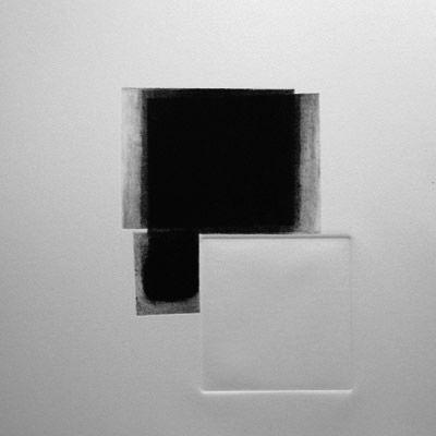 Sophie Marchand D'UN NOIR INTENSE, gravure pointe sèche, 40 x 40 cm, 1/1, 2009