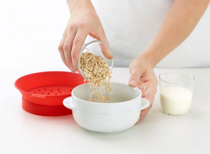 Bol para preparar los cereales para el desayuno