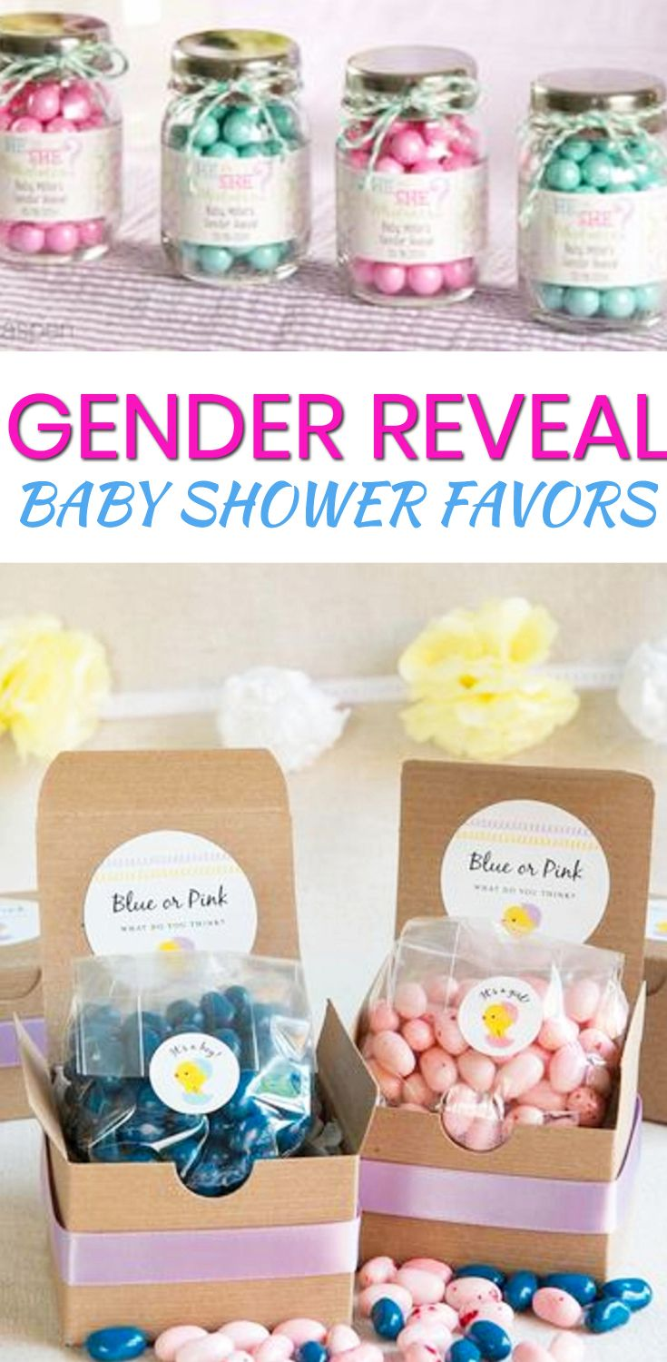 Gender Reveal Baby Shower Favors Baby Boy Shower Favors Baby