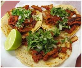 Receta tacos de adobada PLATILLO TIPICO DE TIJUANA