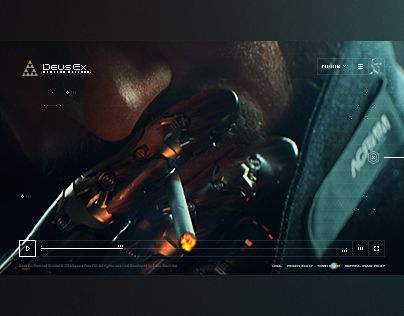 "Check out new work on my @Behance portfolio: ""Deus Ex: Mankind Divided - website"" http://be.net/gallery/38376679/Deus-Ex-Mankind-Divided-website"