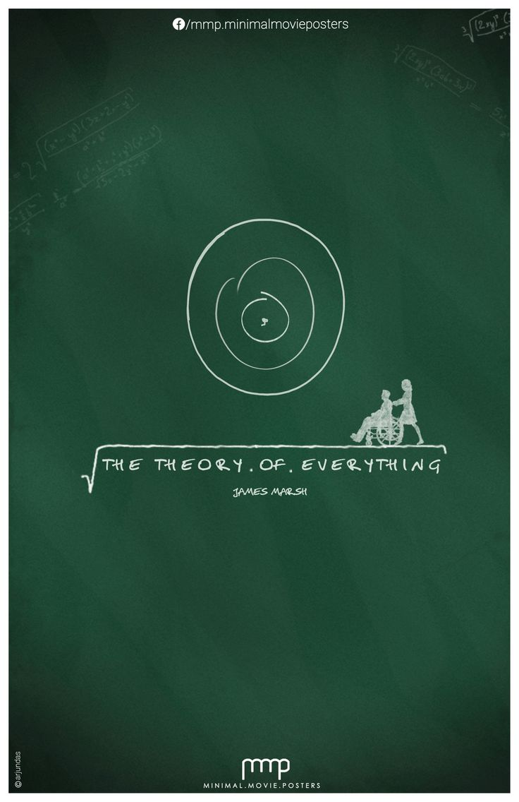 The Theory Of Everything | Minimalist Movie Poster