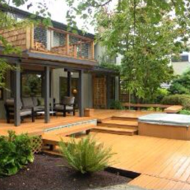 Small Decks And Patios. Affordable Deck And Patio Design Ideas Image ...