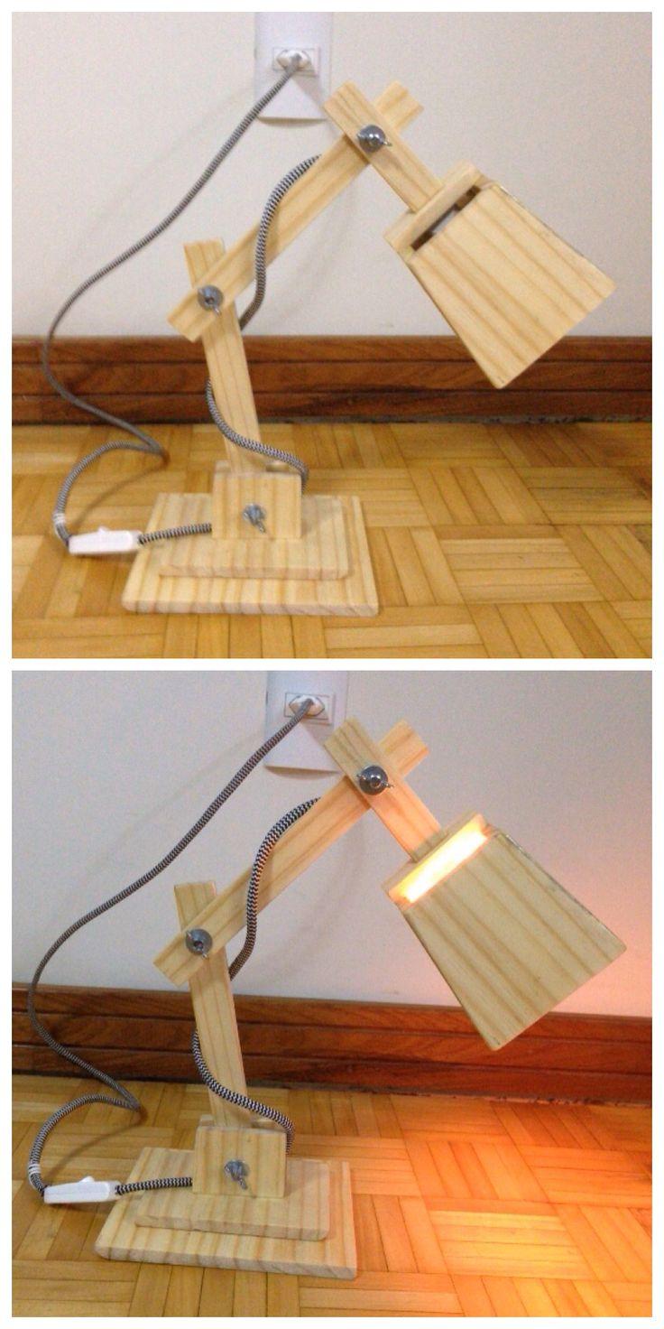 Lumin ria de madeira a partir de chapas de madeira for Tende corda leroy merlin