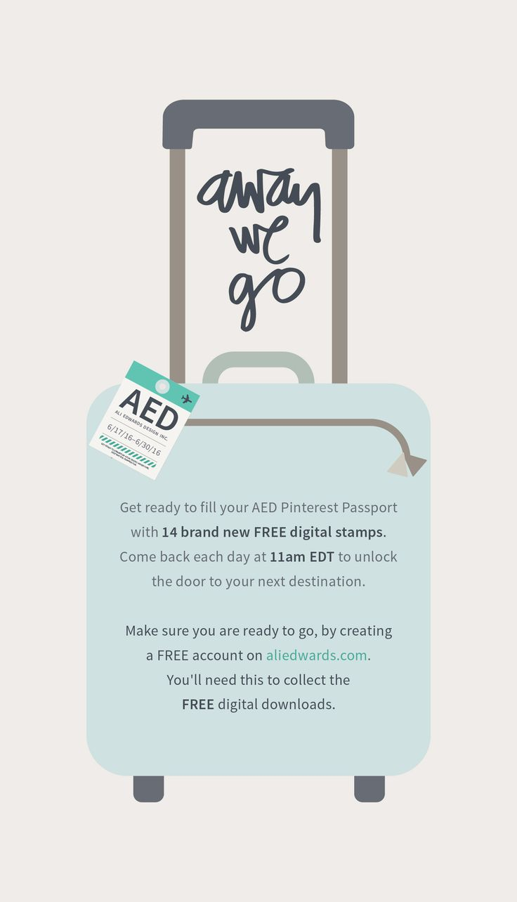 Are you ready? Be sure to create your FREE account on aliedwards.com so you are ready to take off with us!
