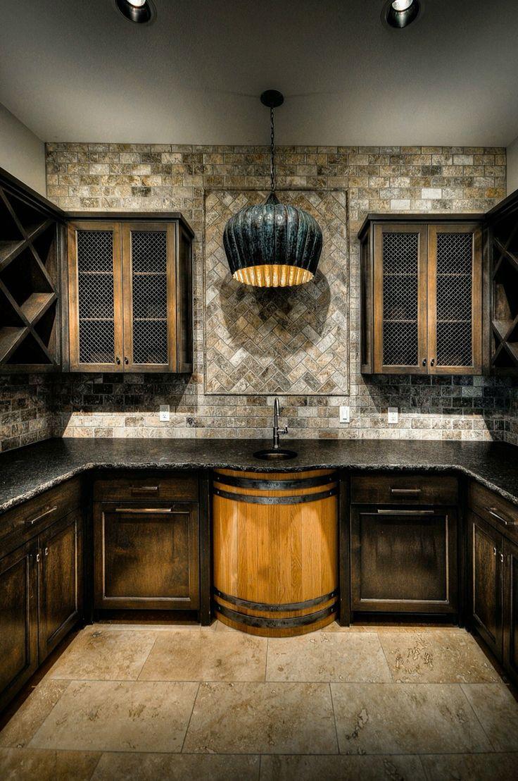 Wine Barrels Best Wine Barrel Sink Ideas On Pinterest Bar And - Wine barrel bathroom vanity for bathroom decor ideas