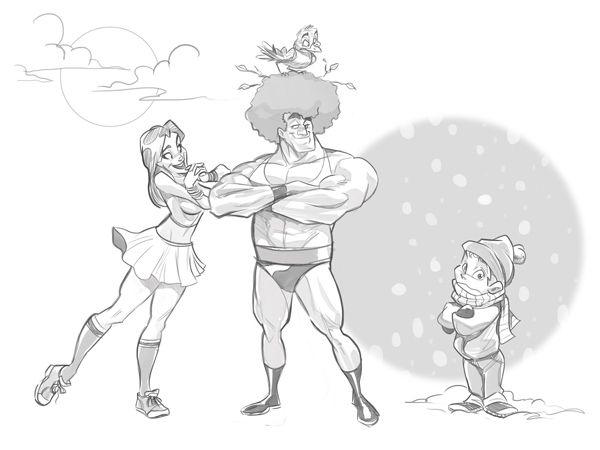 Comic Character Design Tutorial : Best images about teaching art cartoon tutorials