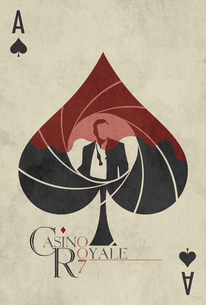 Casino Royale by Ed Burczyk - Home of the Alternative Movie Poster -AMP-