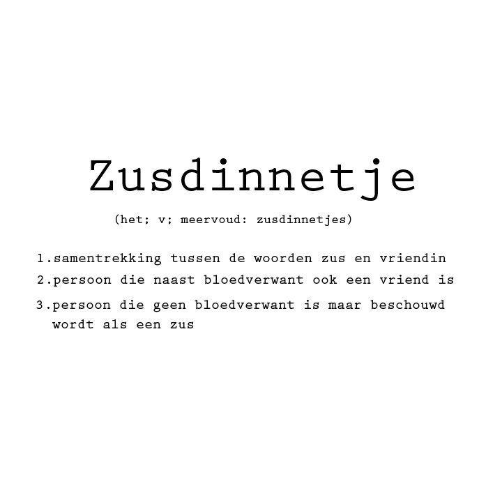 Zusdinnetje ❥