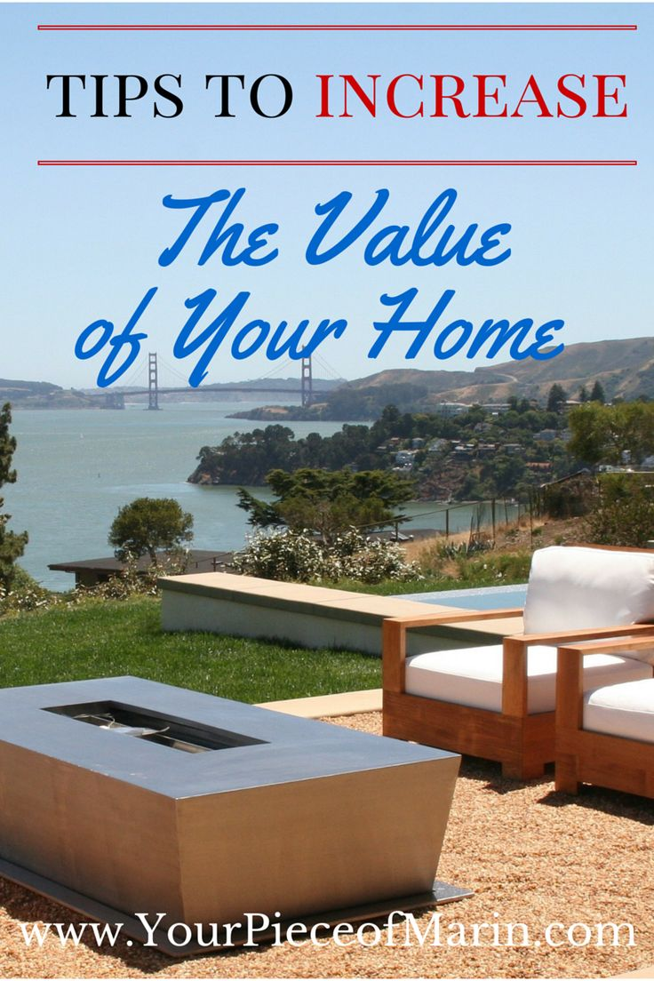 Thinking of remodeling? Whether you are planning on selling your property or not, follow these tips to increase the value of your Marin County home.