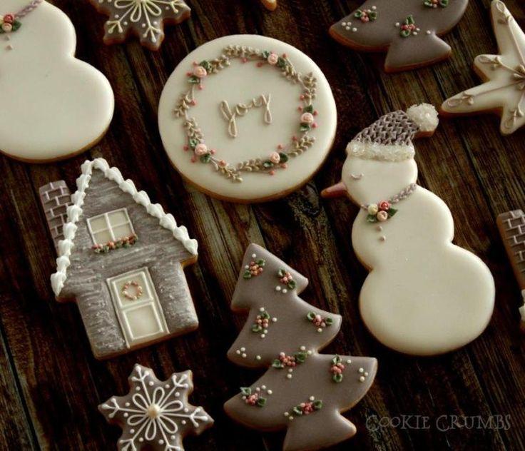 Snowman, house 『アイシングクッキーのオーダー③★リングのクッキー』