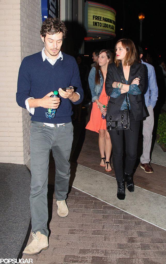 Celeb Diary: Leighton Meester & Adam Brody @ ArcLight Cinema in Hollywood