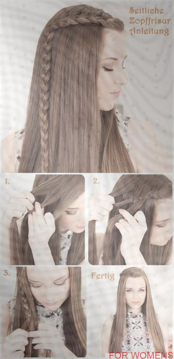 40 Simple Hairstyles For Schools In