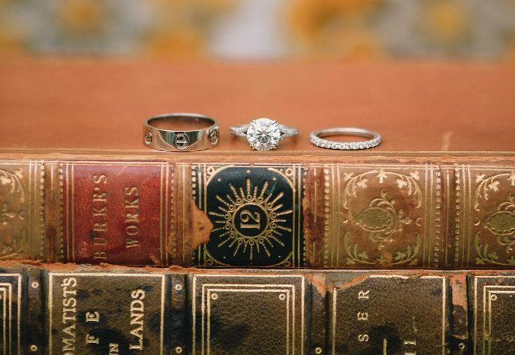 engagement ring wedding bands photograph 2