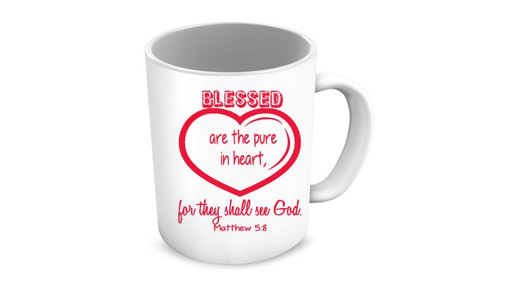 * JUST RELEASED *Blessed are the pure in heart for they shall see God!one of a kind coffee mug.Limited Time OnlyThis itemis NOT available in stores.Guaranteed safe checkout:PAYPAL | VISA | MASTERCARDClickBUYIT NOWTo Order Yours!(100% Printed, Made, And Shipped From The USA)