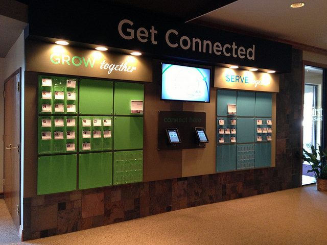 Connect Wall | First Christian Church of Decatur, IL This is… | Flickr