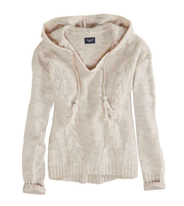 $29.95 AE Cable Knit Sweater hoodie