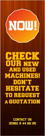 cidiacedid  is the best  Wood Working  Machines provider in Lebanon,  we are providing all types of wood working Industrial Machineries & Trading machines for Lebanon and worldwide. For more details visit our website.   Contact Number: 009619446625