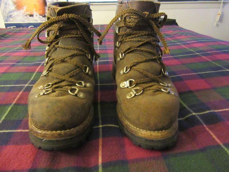 mens vintage rugged vasque boots sz 8.5  27410 #vasque #HikingTrail