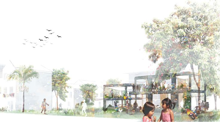 Humangrove - residential neighbourhood in Manila. See more of the project at http://kimdeniseohrstrom.tumblr.com