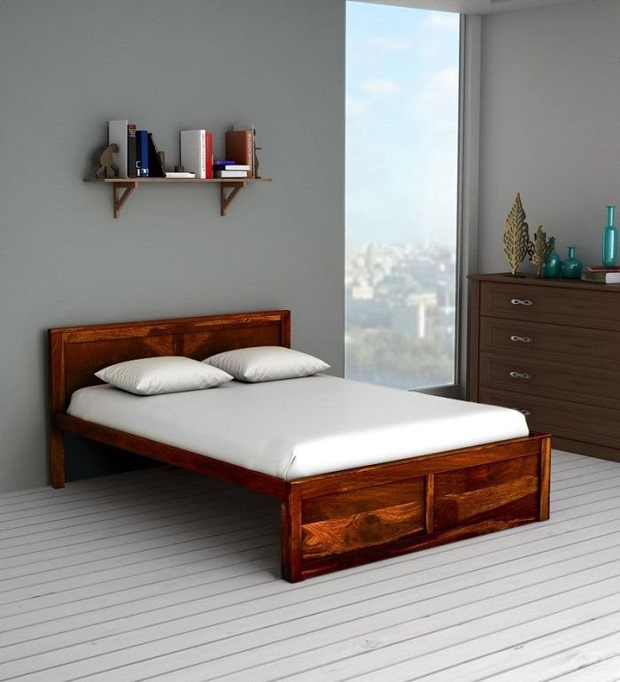10 Latest Wooden Bed Designs With Pictures In 2021   Wooden bed design, Bed design, Wood bed design