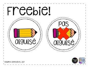 Voici des étiquettes gratuites (deux formats) à placer sur des paniers/des contenants dans votre salle de classe. Si vous avez des questions et/ou des inquiétudes, veuillez communiquer avec moi par courriel - classemadamegenevieve.blog@gmail.com Votre feedback est grandement apprécié.