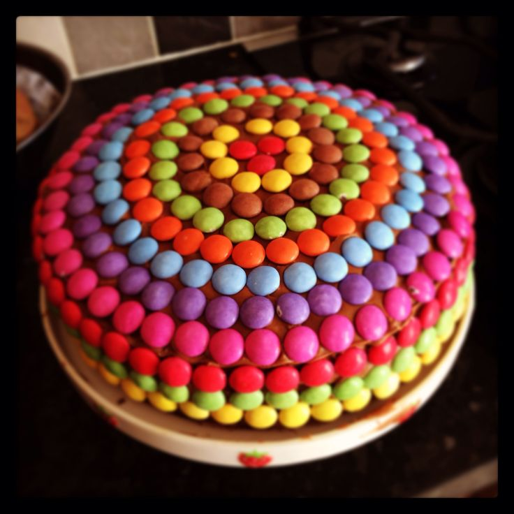 Bethan's 8th birthday smarties cake :)