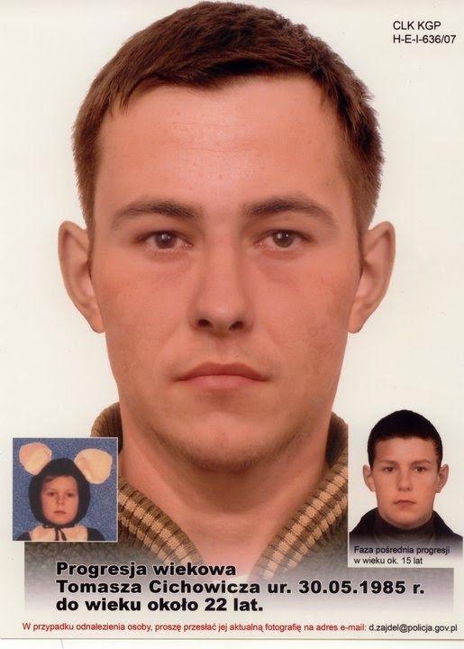 Zaginieni Ludzie : Zaginiony Tomasz Cichowicz