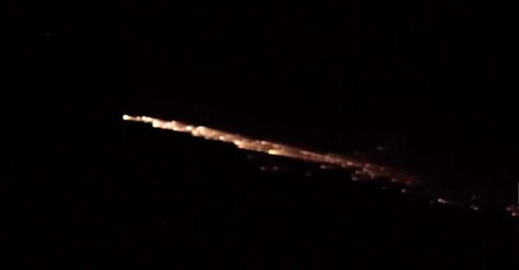 Πανικός σε 6 πολιτείες από «κομήτη» χθες βράδυ! 📹