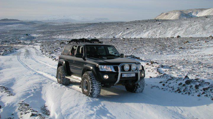 Nissan Patrol Gr Y61 snow