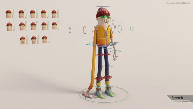 Character Design Demo Reel : Best rigging demo reel images on pinterest rigs d