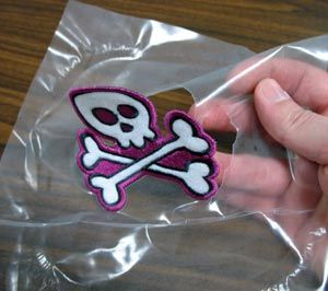 how to make patches with embroidery machine