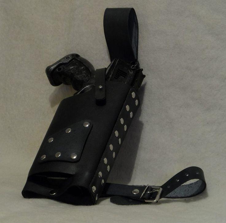 Leather maverick holster