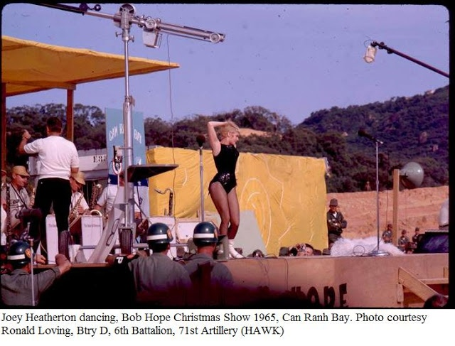 Joey Heatherton Bob Hope, Christmas USO tour - 1965 ...